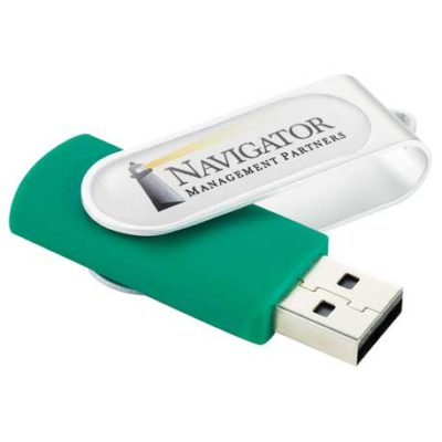 Domeable Rotate Flash Drive 1GB