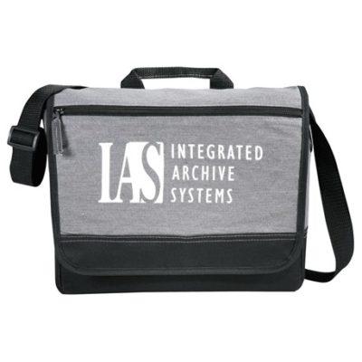 """Faded 11"""" Tablet Messenger Bag"""