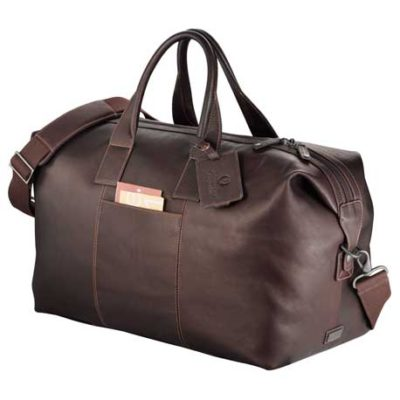 """Kenneth Cole® Colombian Leather 22"""" Duffel Bag"""