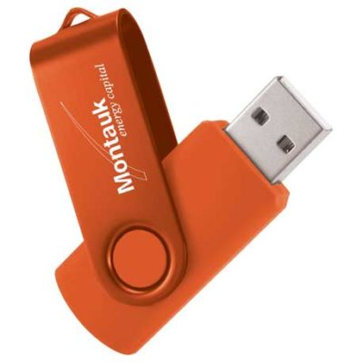 Rotate 2Tone Flash Drive 1GB