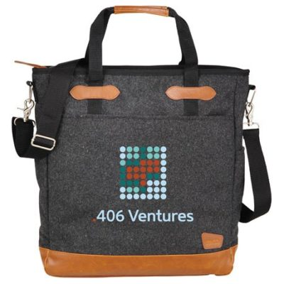 """Field & Co.® Campster Wool 15"""" Computer Tote"""