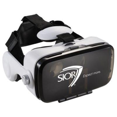 Virtual Reality Headset with Headphones