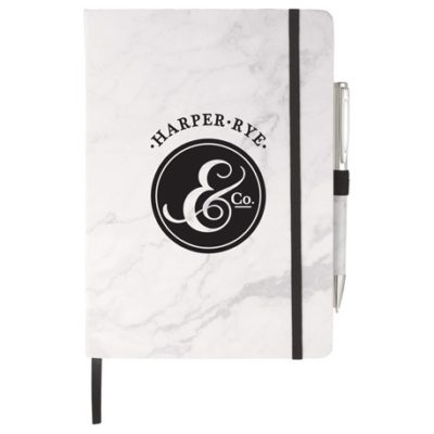 Marble Hard Bound JournalBook™