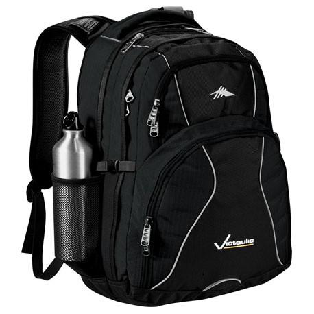 Black High Sierra Swerve Laptop Backpack
