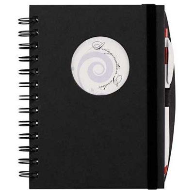 Frame Circle Hardcover Spiral JournalBook™