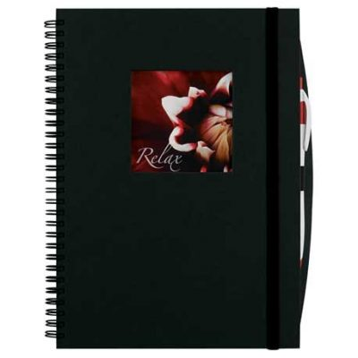 Frame Square Large Hardcover Spiral JournalBook™