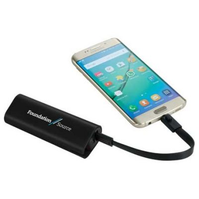 UL Listed Chamber Power Bank with Cord Storage