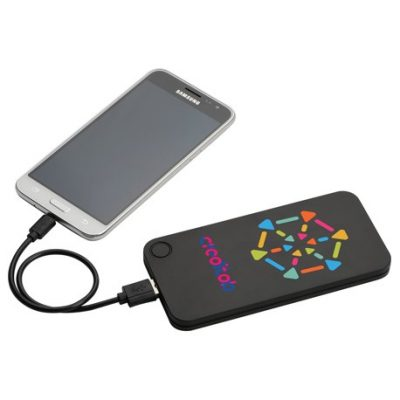 Flux 4000 mAh Powerbank with 2-in-1 Cable
