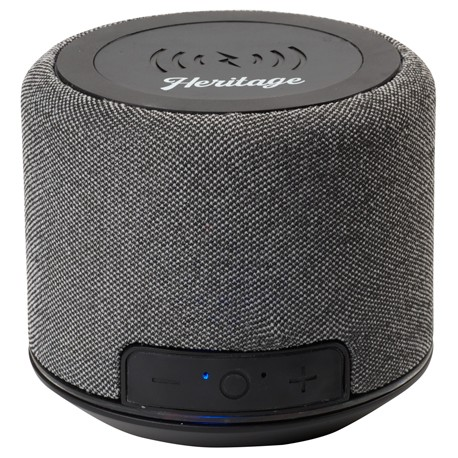 Forward Fabric Speaker with Wireless Charging