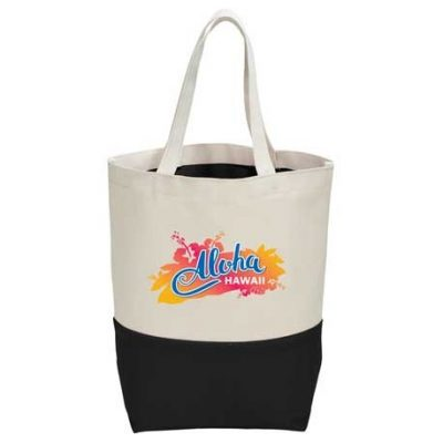 Color Pop 10oz Cotton Canvas Grocery Tote