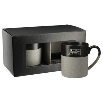 Otis Ceramic Mug 2 in 1 Gift Set